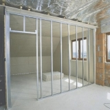 divisória drywall para shopping
