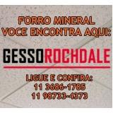 forro de gesso mineral