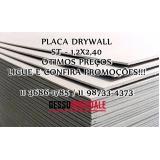 onde vende placa de gesso resistente a umidade verde 120x240m Francisco Morato
