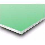 placa de gesso resistente a água preço Casa Verde