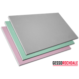 placa de gesso resistente a umidade verde 120x240m melhor preço Belém