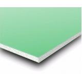 placa de gesso resistente a umidade verde preço Vila Formosa