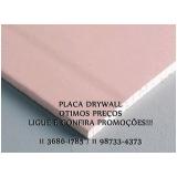 placa drywall rosa preço Embu Guaçú