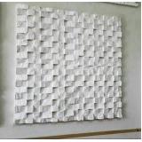 placas de gesso 3d para parede melhor preço Butantã