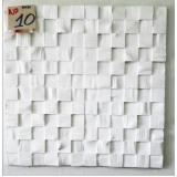 plaquinha de gesso para parede 60x60 Vila Quitaúna