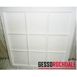 plaquinha de gesso para parede 60x60